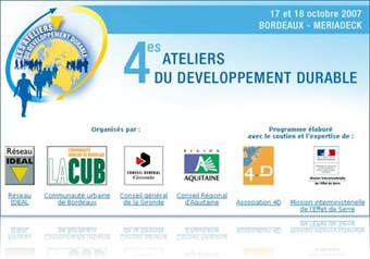 Les 4ème Ateliers du Développement Durable sur TerreTv !