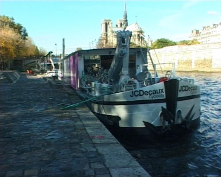 Vélib sur Seine