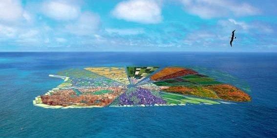 Une île artificielle en plastique recyclé : c'est possible !