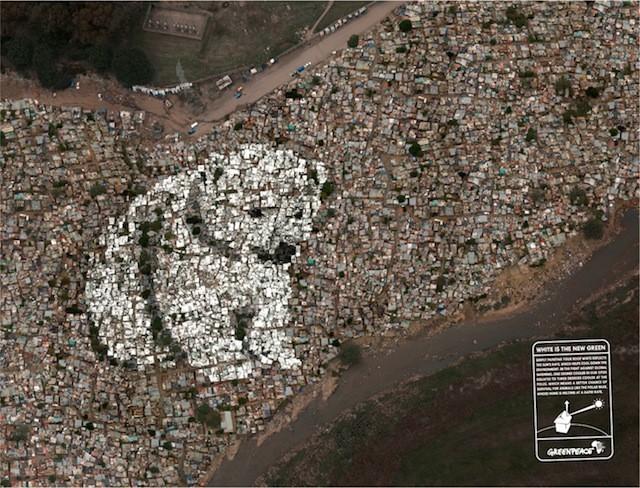 Quand Greenpeace voit blanc …