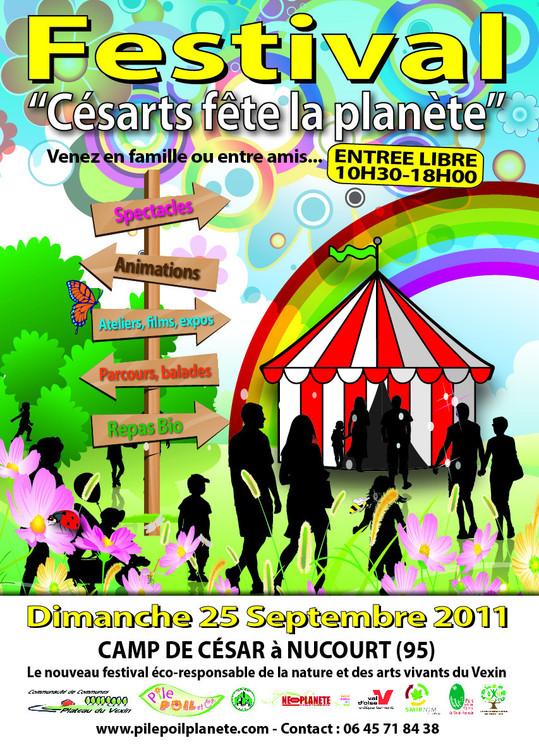 """1ère édition du Festival """"Césarts fête la planète"""""""