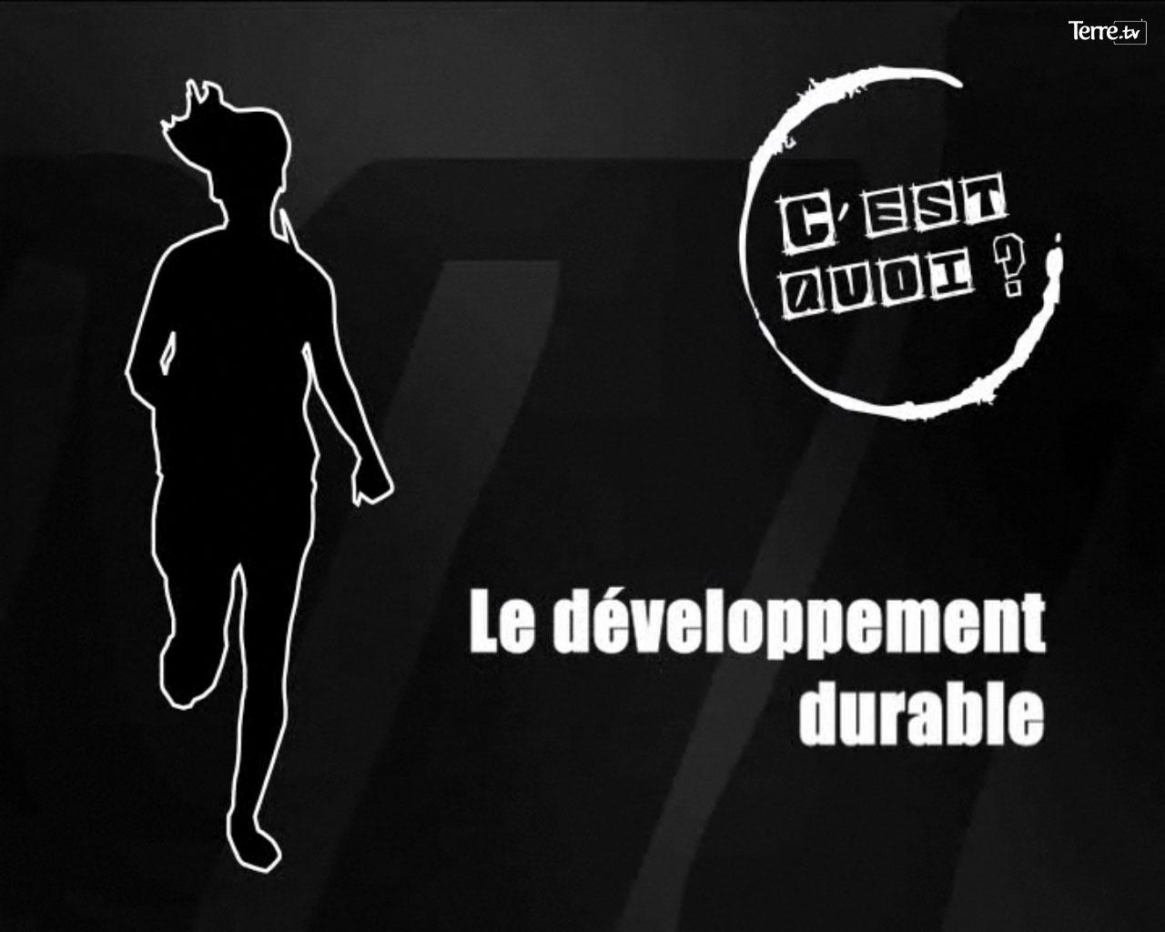 cquoi developpement durable