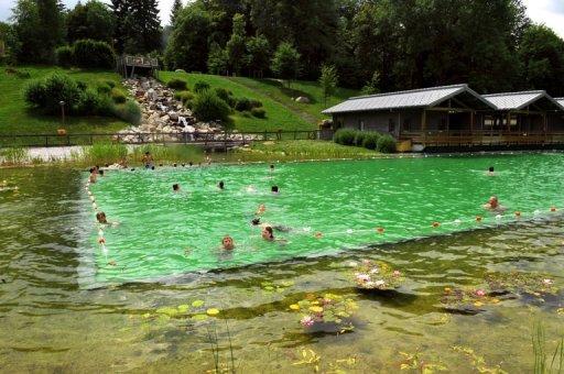 La baignade écolo dans des piscines 100% naturelles à ciel ouvert