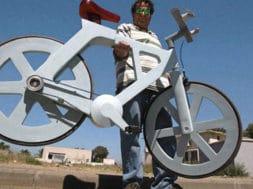 Découvrez le vélo en carton !