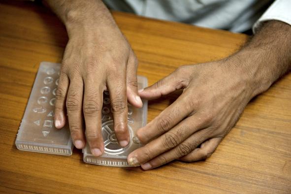 Le «Braille phone», un téléphone portable pour les aveugles