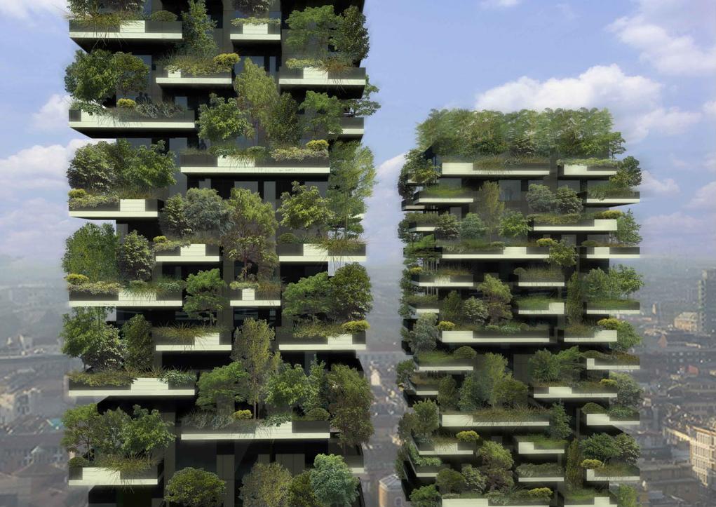 «Bosco Verticale» : bientôt une forêt verticale à Milan !