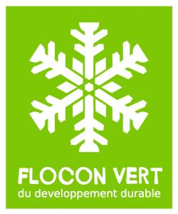 Label Flocon Vert