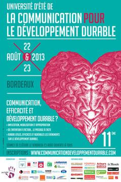 Communication, efficacité et développement durable – les 22 et 23 août 2013