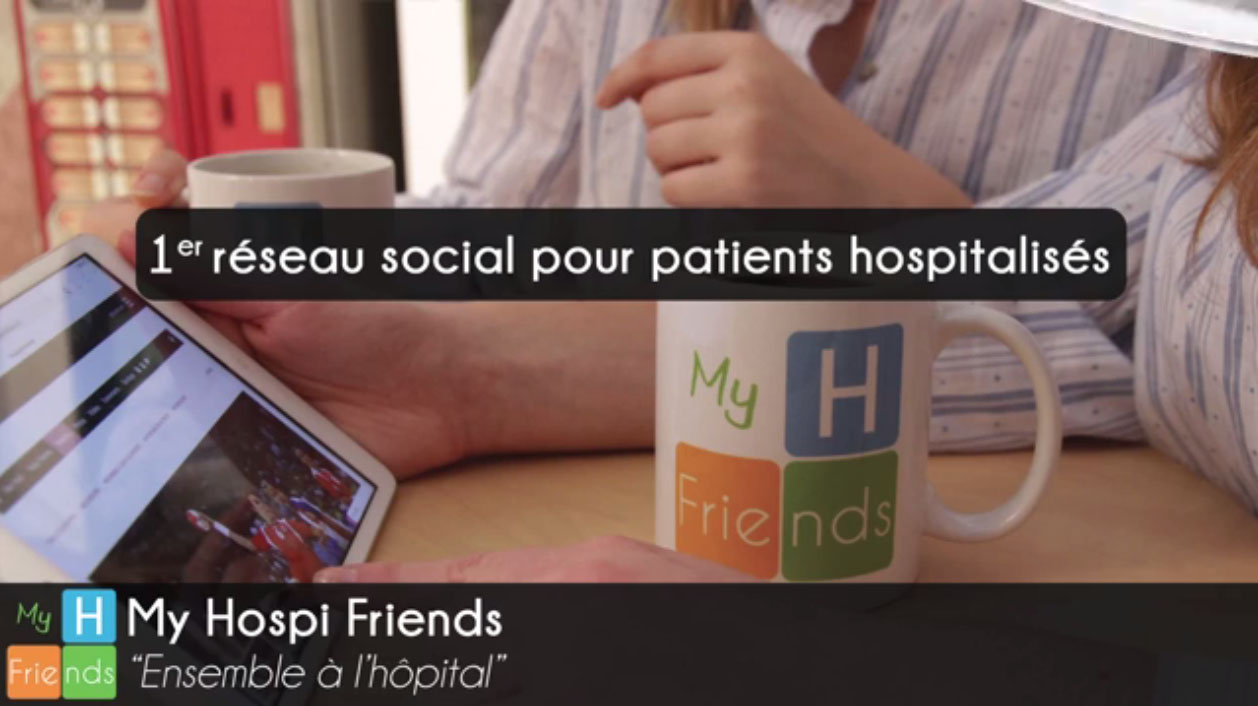 My Hospi Friends, le 1er réseau social intrahospitalier