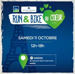 « Run and Bike du Coeur », venez courir pour l'Institut Pasteur !
