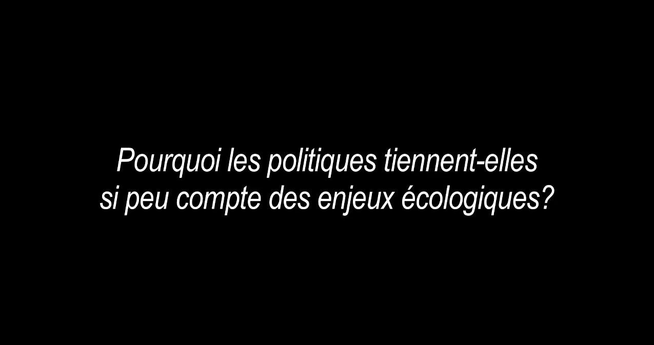 Bridget Kyoto : pourquoi les politiques se fichent-ils de l'écologie ?